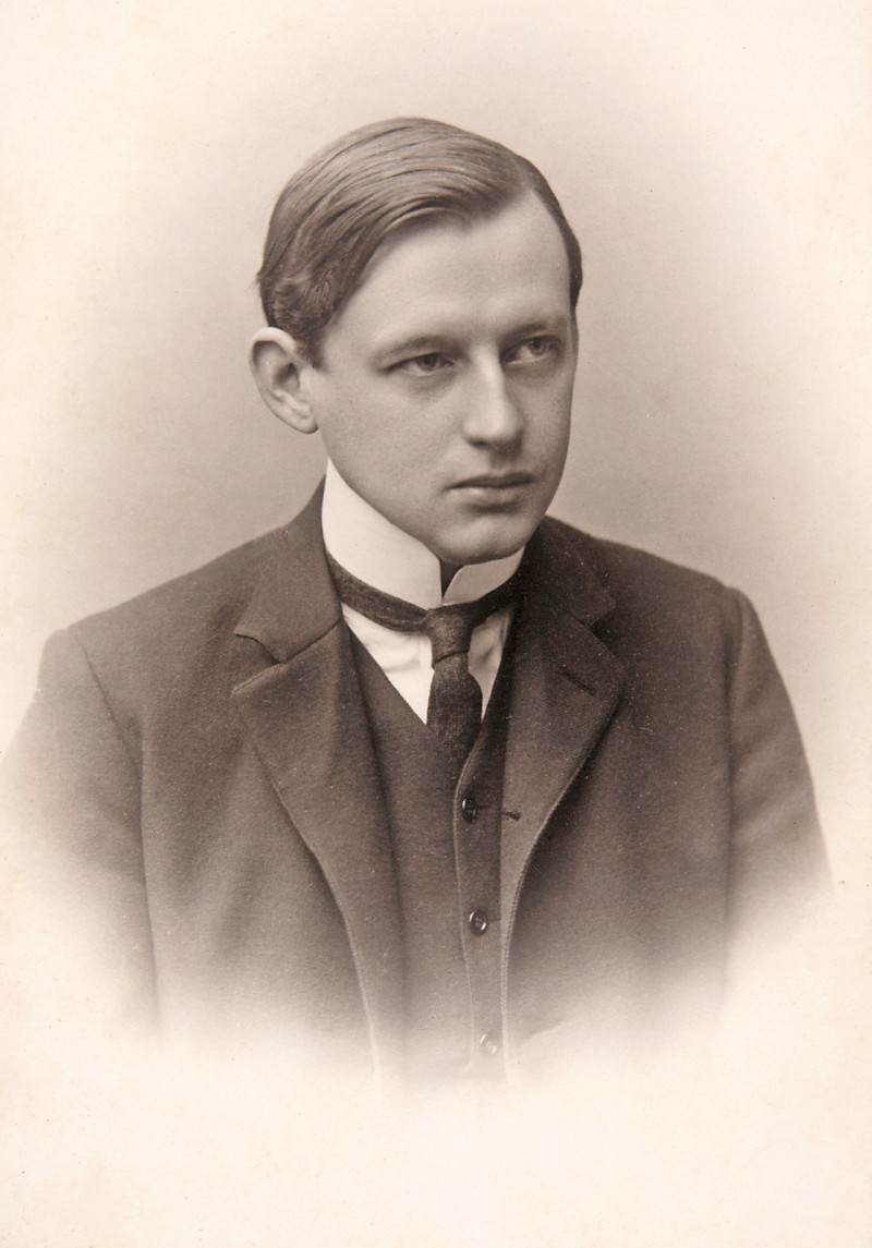 Albrecht Mendelssohn Bartholdy as a student.  He attended law schools in Leipzig, Heidelberg, and Munich © Hamburger Bibliothek für Universitätsgeschichte.
