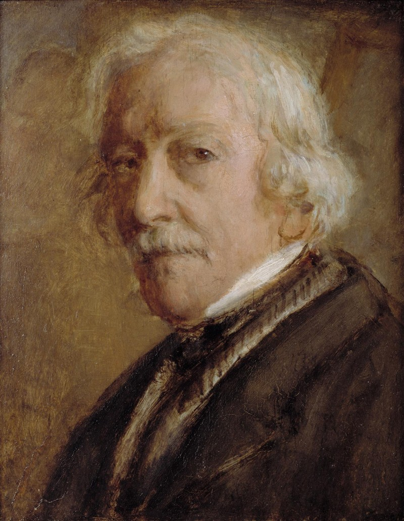 Philipp Veit, Self-Portrait at the Age of Eighty, circa 1873, © GDKE / photo: Ursula Rudischer.